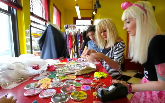 Betsey Johnson's Studio