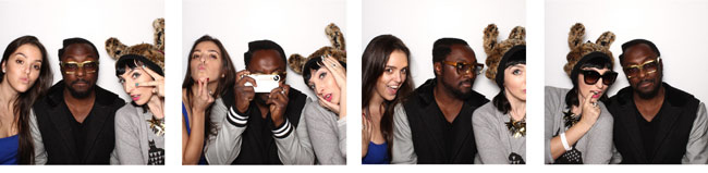 Way too much fun at the EKOCYCLE photobooth...