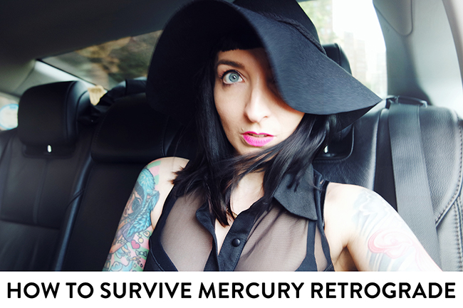Don't let Mercury retrograde kick your ass!